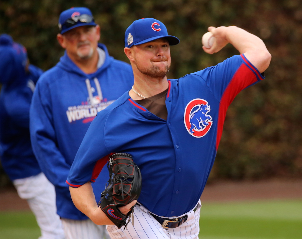 Cubs make first big move, set trade price for starting pitcher